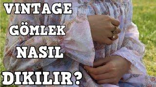Kolu volanlı gömlek nasıl dikilir?//KENDİN YAP ||Rabia