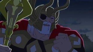 Avengers Assemble Odin vs Avengers clip