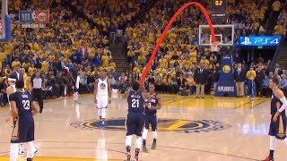 Darius Miller hits a FULL COURT SHOT vs. Golden State Warriors