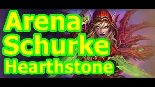 Let´s Play Hearthstone GvG Arena Season 12  #012 Schurke Part 1 german