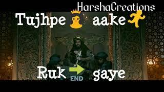Khalibali | Padmaavat | Whatsapp Status | Whatsapp Status Video | Love 💖 song | HarshaCreations