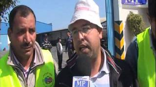 طرد سائق شاحنة إثر حادثة سيراثناء العمل   -جزء 1