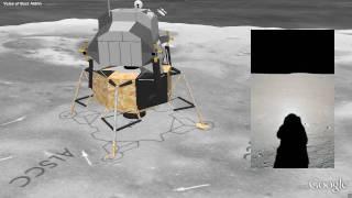 Moon in Google Earth - Apollo 11 Landing