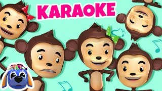 Five Little Monkeys | Nursery Rhymes Karaoke | Sing-Along Songs for Children by Raggs TV