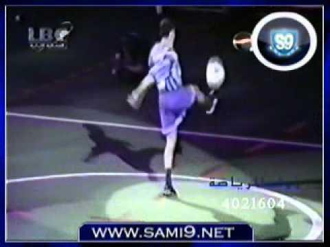 سامي يتغلب على روبرتو كارلوس في تحدي نجوم بيبسي