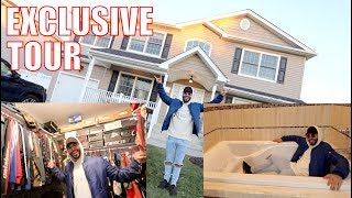 EXCLUSIVE TOUR OF THE NEW ADAM'S FAMILY HOUSE!!! *insane*