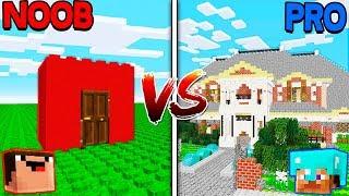 Minecraft NOOB vs PRO - GIANT LEGO HOUSE in Minecraft!