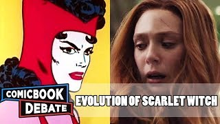 Evolution of Scarlet Witch in Cartoons, Movies & TV in 7 Minutes (2018)