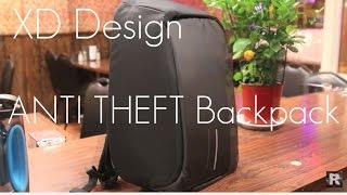 An ANTI THEFT Tech Bag? - XD Design Bobby Backpack - Quick Review / Demo