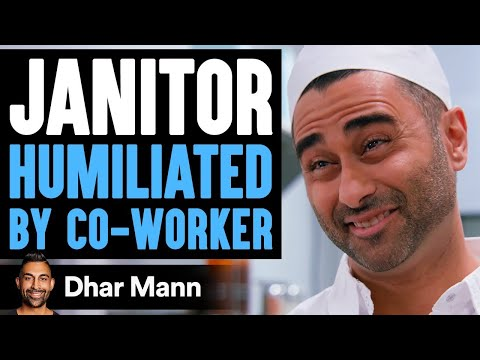 Janitor HUMILIATED By Co Worker Lives To Regret It Dhar Mann