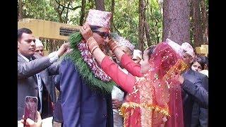 पात्ले  खेत का उतम सँग दर्बाङ कि सिल्पा सुबेदी को सुव विवाह २०७४/०३/०६ //weding nepal