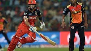 RCB VS SRH, IPL 2016: Royal Challengers Bangalore won by 45 runs