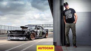 How to drift*, by Ken Block –shredding tyres in the 845bhp Hoonicorn Mustang