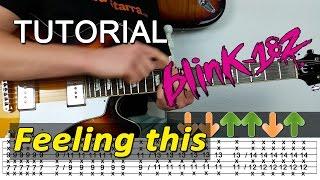 Cómo Tocar FEELING THIS de blink-182 en guitarra - TAB y ACORDES