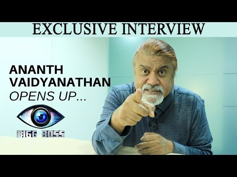 Xxx Mp4 Bigg Boss 2 Tamil Controversy Ananth Vaidyanathan Opens Up On Ponnambalam JFW Exclusive 3gp Sex