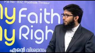 My Faith, My Right ! Niche of Truth Talk Show