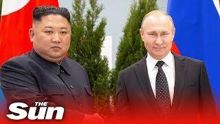 Kim Jong-un and Putin's summit (English)