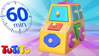 TuTiTu Specials | Shapes Puzzle | And Other Learning Toys | 1 HOUR Special