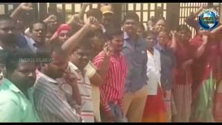 Ravirala Nirav Modi Gemzs company workers Stage Dharna at pahadi Shareef  Overseas News