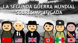 La Segunda Guerra Mundial Sobresimplificada