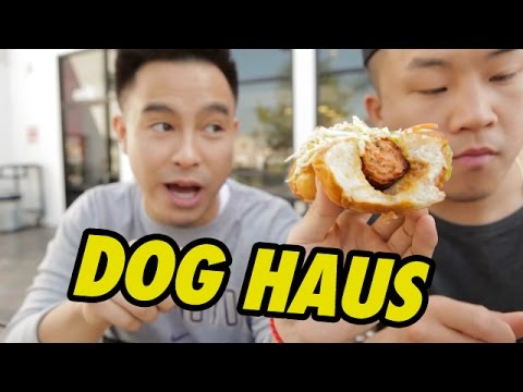 Xxx Mp4 EPIC GOURMET HOT DOGS Dog Haus Fung Bros Food 3gp Sex