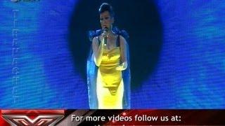 X Factor Albania - Celebrity Guest - Flaka Krelani