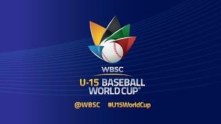 Japan vs USA  - WBSC U-15 Baseball World Cup 2016