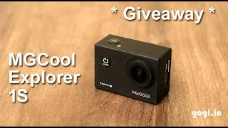 MGCool Explorer 1S review - Action कैमरा + Giveaway