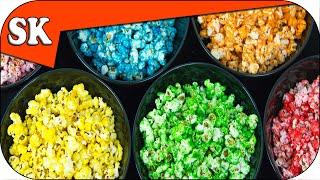 Rainbow Popcorn - How to make Popcorn Series 03 - Rainbow S09