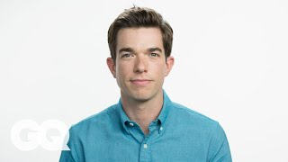John Mulaney Threw Up and Blamed It on a Kid Once – GQ's My First Job
