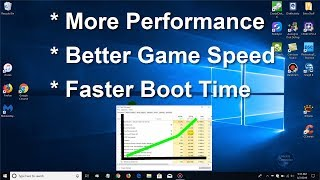 How to make Windows 10 Faster - Faster Gaming 2018/2019 More FPS - Free & Fast Speed