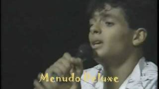 MENUDO - If Your Not Here - Robi Rosa LIVE