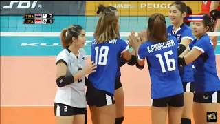 Thailand vs Indonesia | 23 August 2017 | Volleyball Women's 29th SEA GAMES