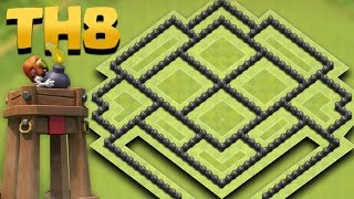 Town Hall 8 TROPHY PUSHING Base Update *BOMB TOWER*  (TH8 Anti 2 STAR) + TH9 Attack Replays