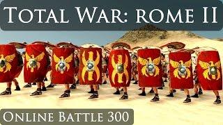 Total War Rome 2 Online Battle Video 300