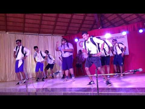 Funny dance of D r B B hegde college kundapura