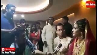 মাহিয়া মাহির স্বামী যা করলো না দেখলেই মিস - Mahiya Mahi Weeding Video Live