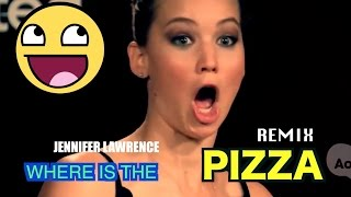 Stard Ova - Jennifer Lawrence - Where is the PIZZA