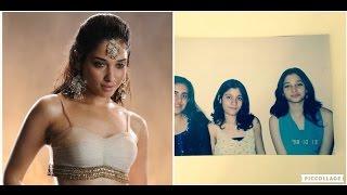 Childhood Photos Of Tamil Actress Tamanna Bhatia