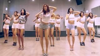 SISTAR - Shake it - mirrored dance practice video - 씨스타 쉐이크 잇