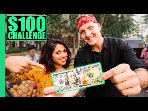 INDIAN Street Food 100 CHALLENGE in MUMBAI Best Street Food in Mumbai