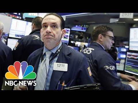 Xxx Mp4 NBC News Special Report Dow Jones Plunges More Than 1000 Points NBC News 3gp Sex