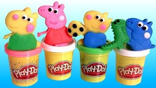 Play Doh Peppa Pig Space Rocket Dough Playset ❤ Review by Disneycollector Cohete Espacial Astronave