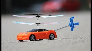 How to Make a Helicopter - Helicopter car