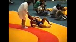 Wrestling junior world championship 1990 Istanbul 81kg Nagy Attila Hun - Greece
