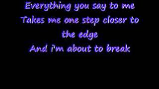 One Step Closer -Linkin Park Lyrics
