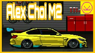 HOW TO BUILD ALEX CHOI M2 IN PIXEL CAR RACER