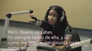Nicki Minaj habla de Anaconda, The Pink Print y de **Flawless Remix