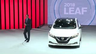 2018 Nissan LEAF: The Las Vegas Reveal