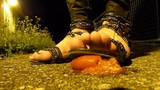 Sandals K by Kookai Tomato Crush
